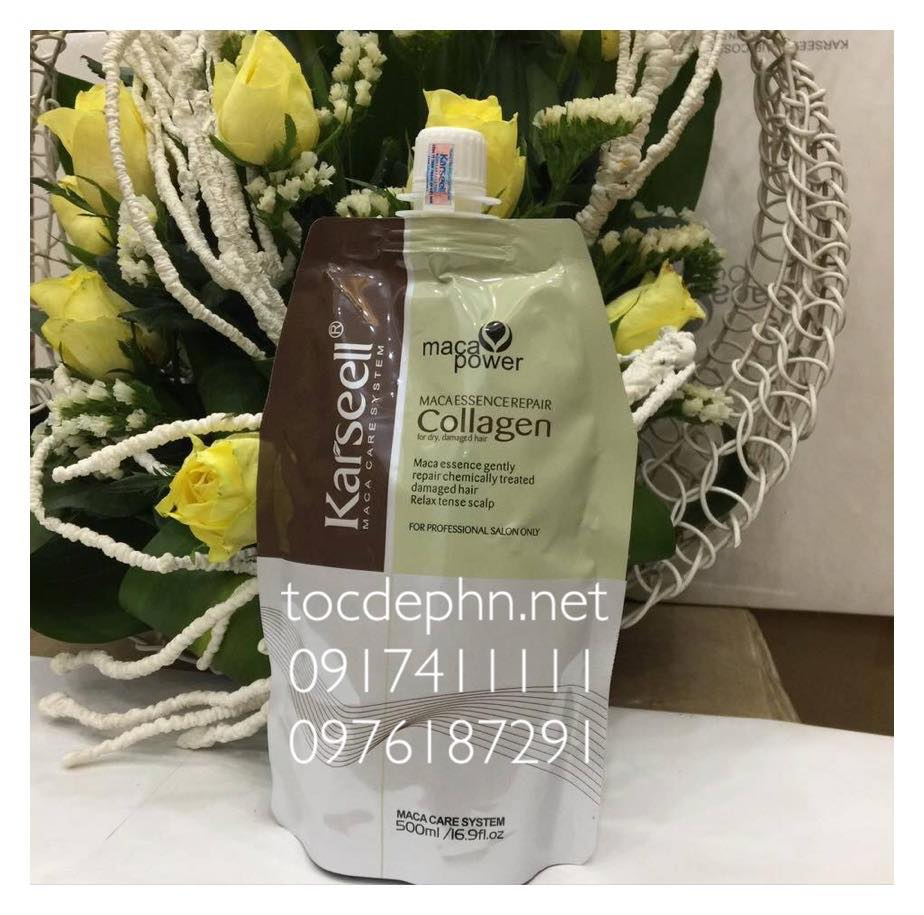 Kem hấp dầu COLLAGEN KARSELL MACA POWER 500ml